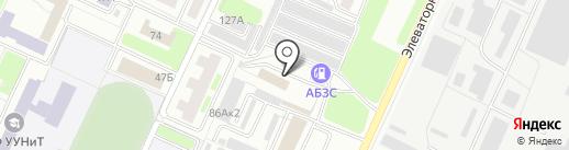 Автоколор на карте Стерлитамака