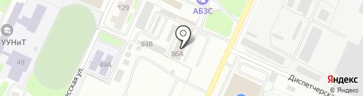 Башавтоком на карте Стерлитамака