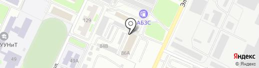 Авекон на карте Стерлитамака