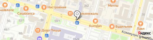 Шаверма по-питерски на карте Уфы