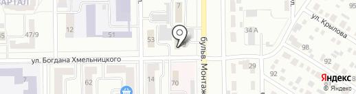 VIP на карте Салавата