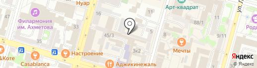 Ассоциация профессиональных переводчиков г. Уфа на карте Уфы