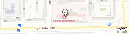 Наркологический диспансер на карте Салавата