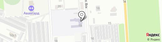Средняя общеобразовательная школа №19 на карте Стерлитамака