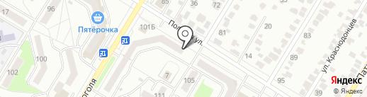 Азык-тулек на карте Стерлитамака