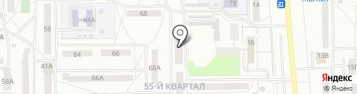 Библиотека №9 на карте Салавата