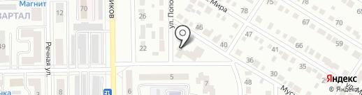 Библиотека №3 на карте Салавата
