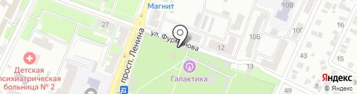 ЧемоданЪ на карте Стерлитамака