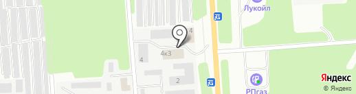 Garage на карте Стерлитамака