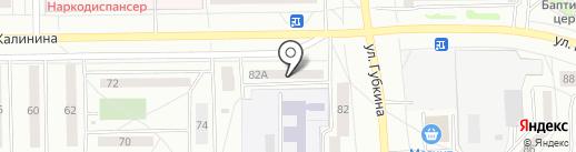 Ателье по ремонту и пошиву одежды на карте Салавата