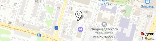 Дома №46 по улице Карла Маркса Уфы, ТСЖ на карте Уфы