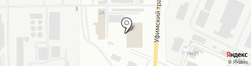 Люкс-пласт на карте Стерлитамака