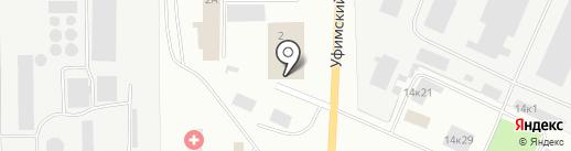 Промконструкция на карте Стерлитамака