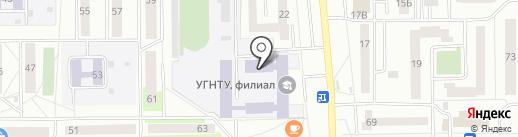 УГНТУ на карте Салавата