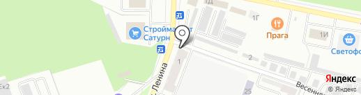 Транзит-регион на карте Стерлитамака