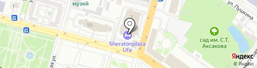 Shine Spa на карте Уфы