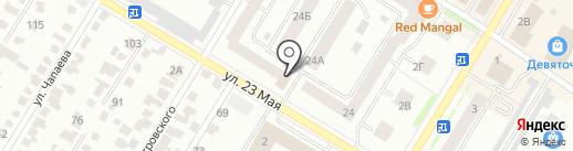 МЕГИ на карте Стерлитамака