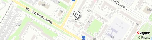 Адвокатский кабинет Ишмуратова И.Р. на карте Стерлитамака