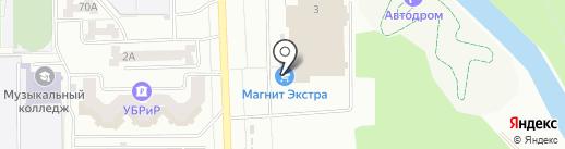 REDMOND на карте Салавата
