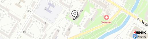 ДЮСШ по шахматам на карте Стерлитамака