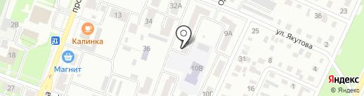 Дистрибуция Красоты на карте Стерлитамака
