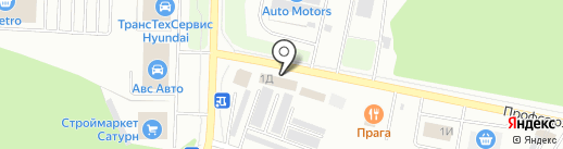Магазин автозапчастей для Ford на карте Стерлитамака