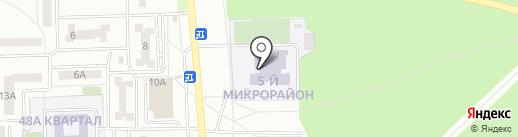Салаватский колледж образования и профессиональных технологий на карте Салавата