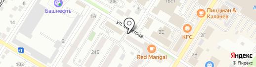 STRАвто на карте Стерлитамака