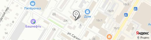 СТРОЙМАКС на карте Стерлитамака