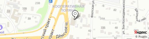 Добрый Сервис на карте Уфы