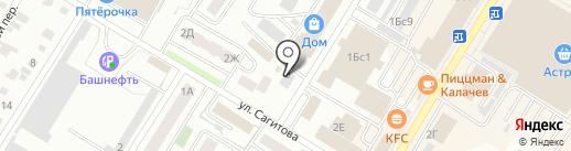 Селена на карте Стерлитамака