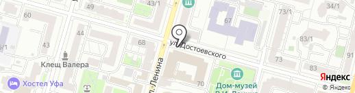 Орбита на карте Уфы