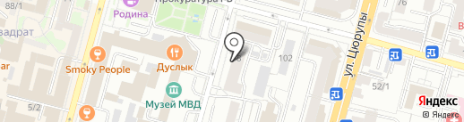 Банкомат, МТС-банк, ПАО на карте Уфы