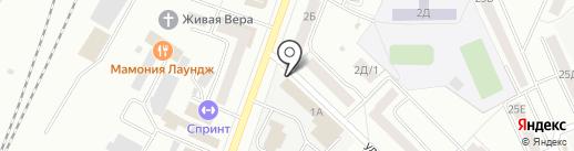 Электрические сети, МУП на карте Стерлитамака