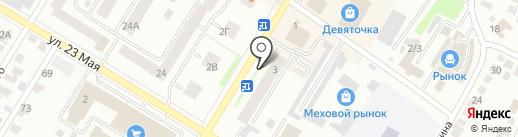 Росбанк, ПАО на карте Стерлитамака