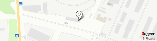 Арина на карте Стерлитамака
