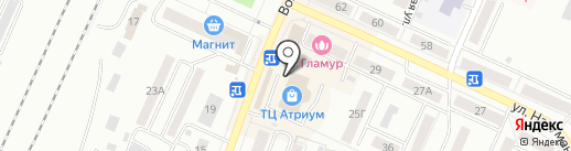 Магазин корейских салатов на карте Стерлитамака
