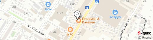 Пиццман & Калачёв на карте Стерлитамака