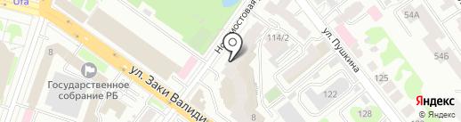 Уфимский коллекционер на карте Уфы