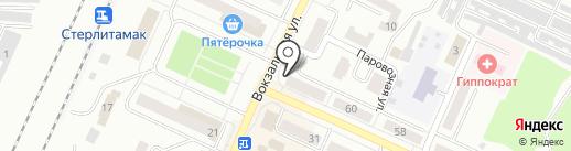 Магазин автозапчастей для ВАЗ на карте Стерлитамака