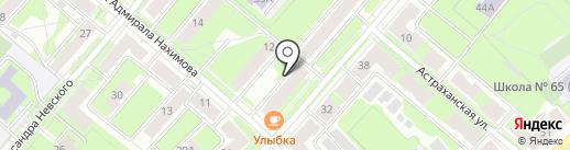 Компания на карте Перми