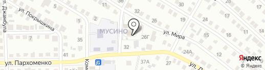 Подворье Покрово-Энадского мужского монастыря на карте Салавата