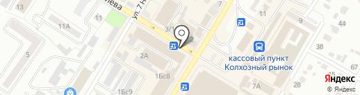 Автовокзал на карте Стерлитамака