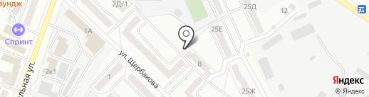 Саша на карте Стерлитамака