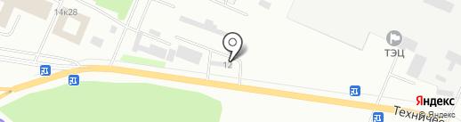 Насыров Р.Р. на карте Стерлитамака