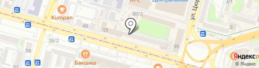 Tony Montana barbershop на карте Уфы