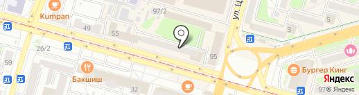 Совпадение на карте Уфы