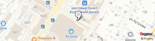 Киоск по продаже хлебобулочных изделий на карте Стерлитамака