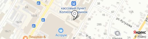 Дачница на карте Стерлитамака