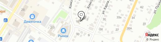 Здравушка на карте Стерлитамака